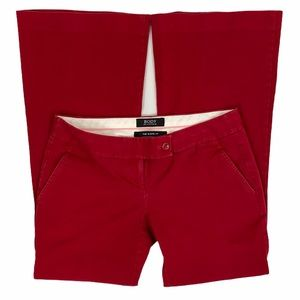 VS Body by Victoria The Kate Fit Red Bootcut Pants